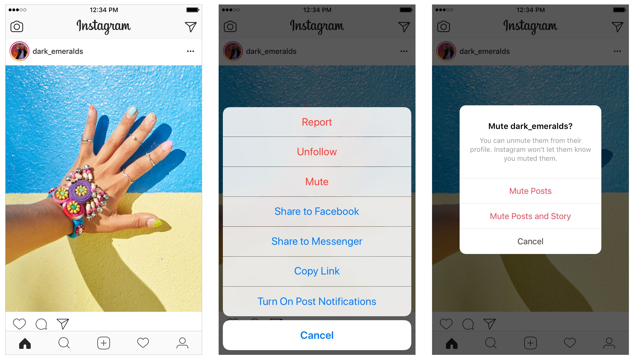 Feed Instagram: How To Hide Instagram Posts, Stories Or Both—without