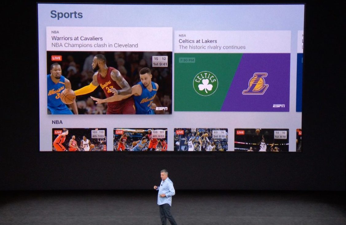 How to watch sports and get live scores in Apple's TV app