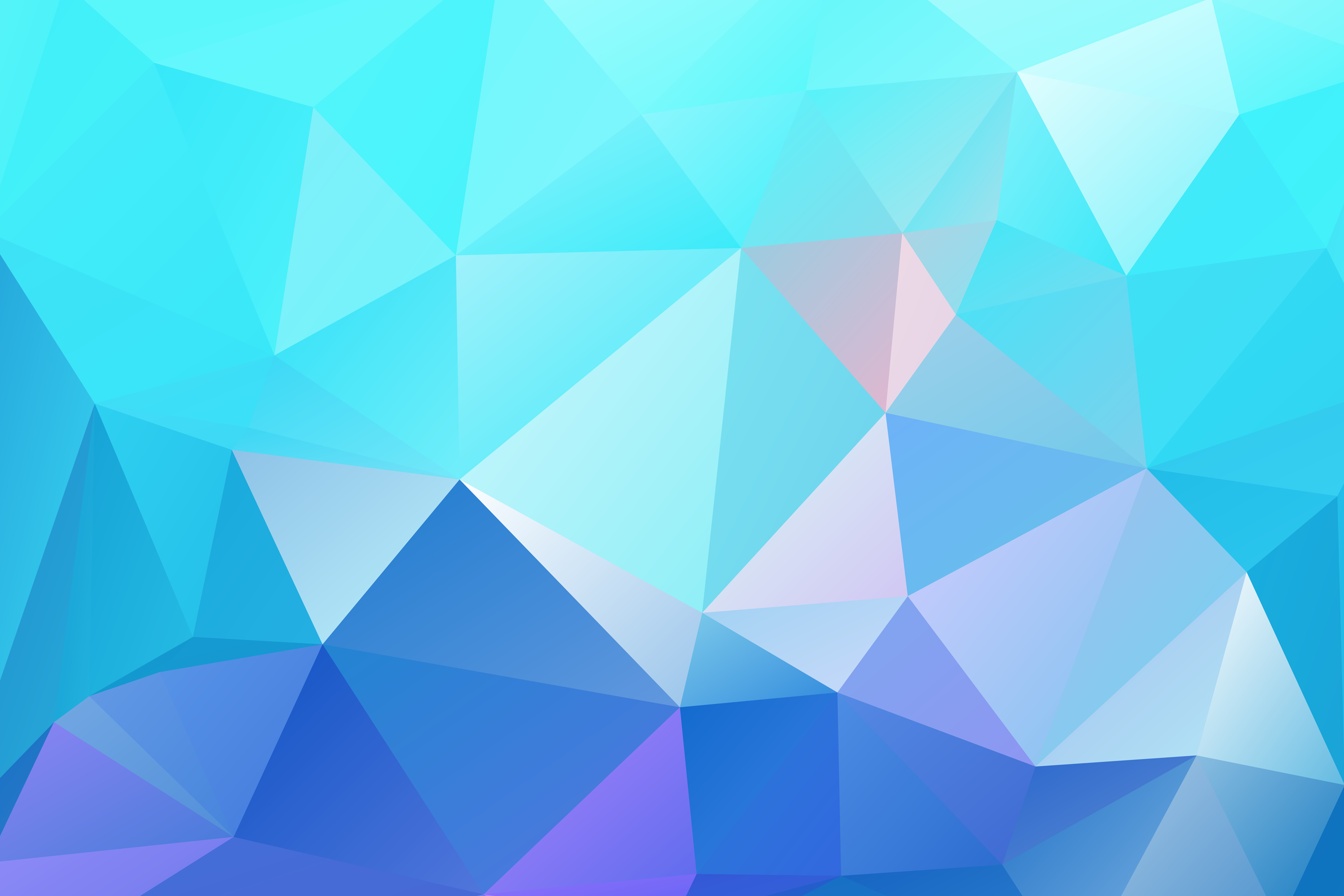 multicolor polygon wallpapers for iphone ipad or desktop