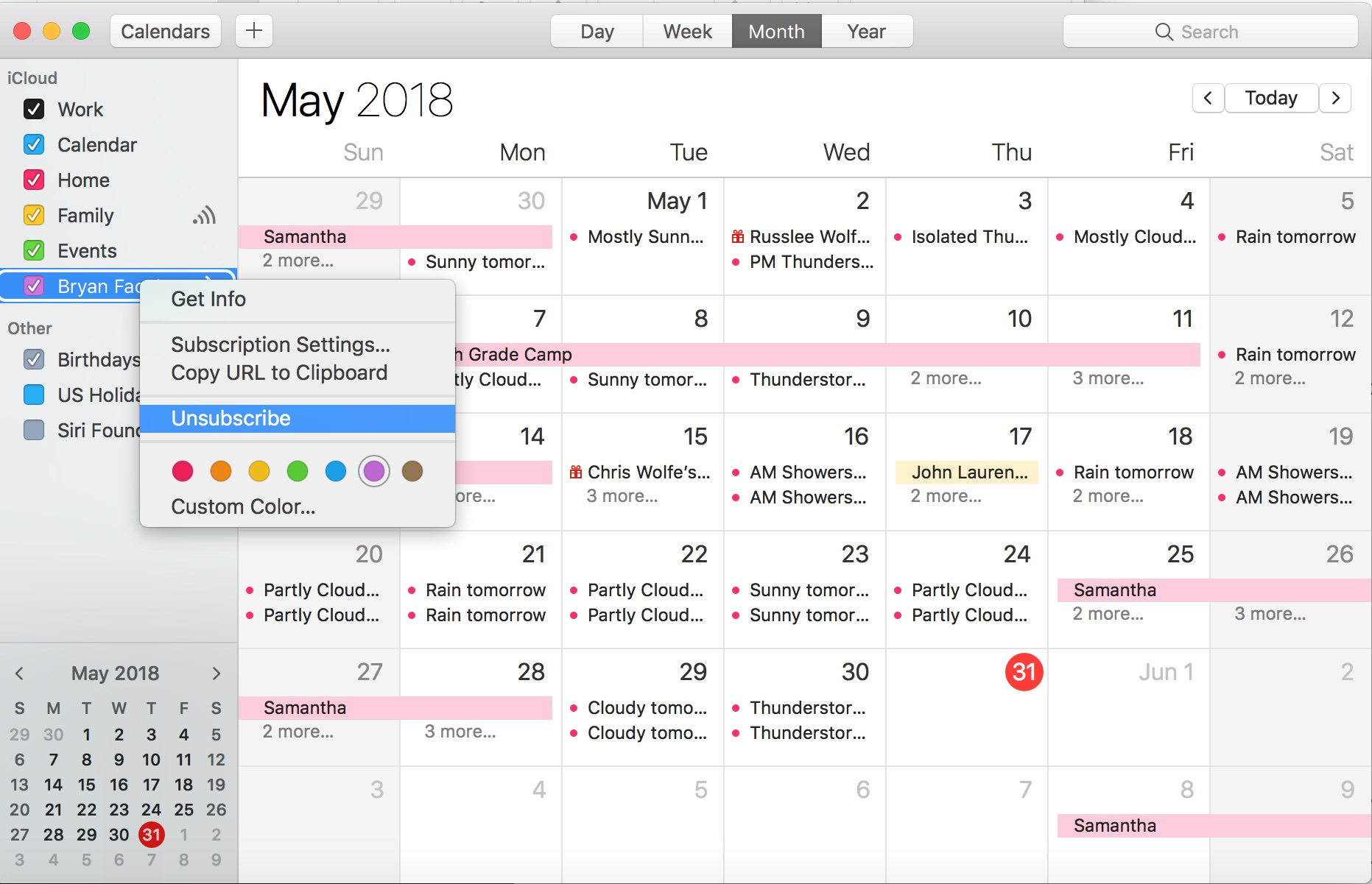 Calendario Con Week 2018.How To Add Facebook Events To Iphone Calendar And Delete
