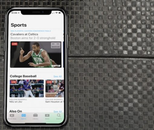 watch sports Apple TV