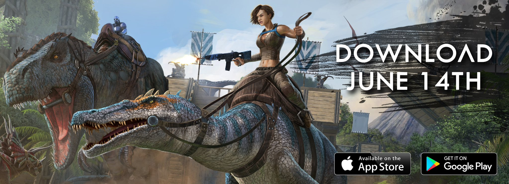 ARK: Survival Evolved mobile features the full online survival experience contained in the PC and console versions of the game