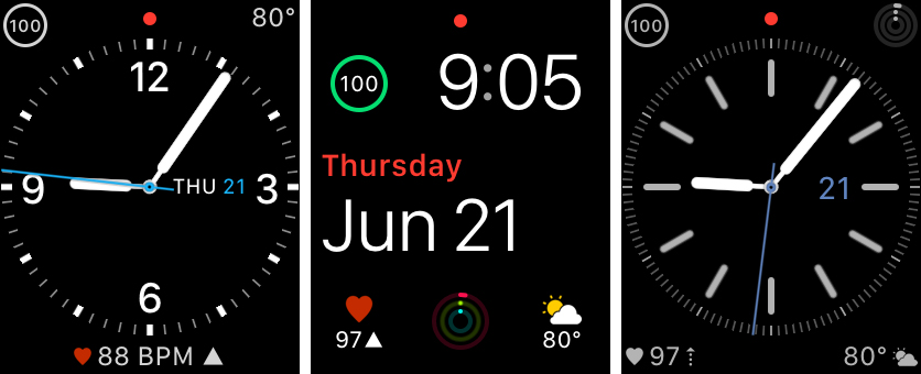Apple Watch Face Complications