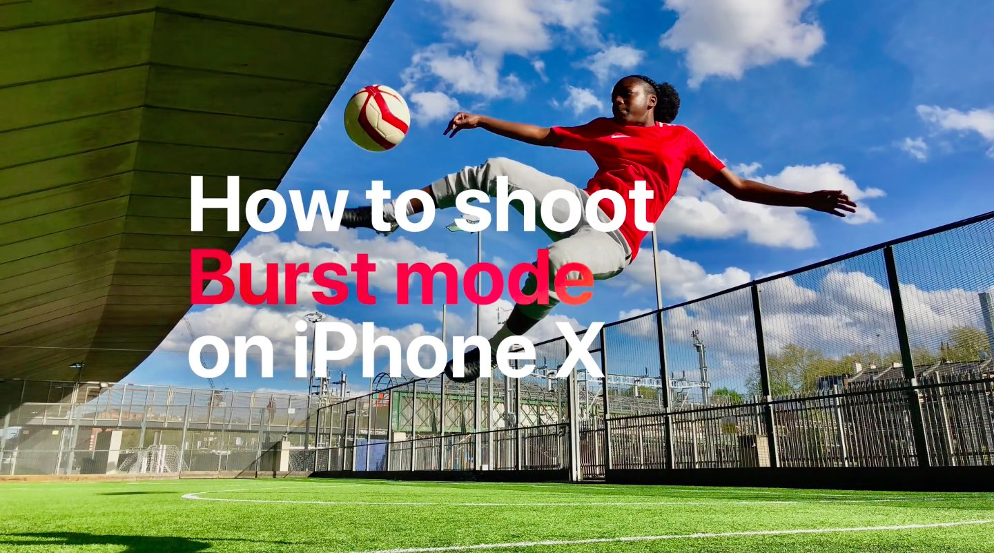 iPhone photography and special shooting modes are highlighted in Apple's latest soccer-themed apps celebrating the first day of the 2018 FIFA World Cup