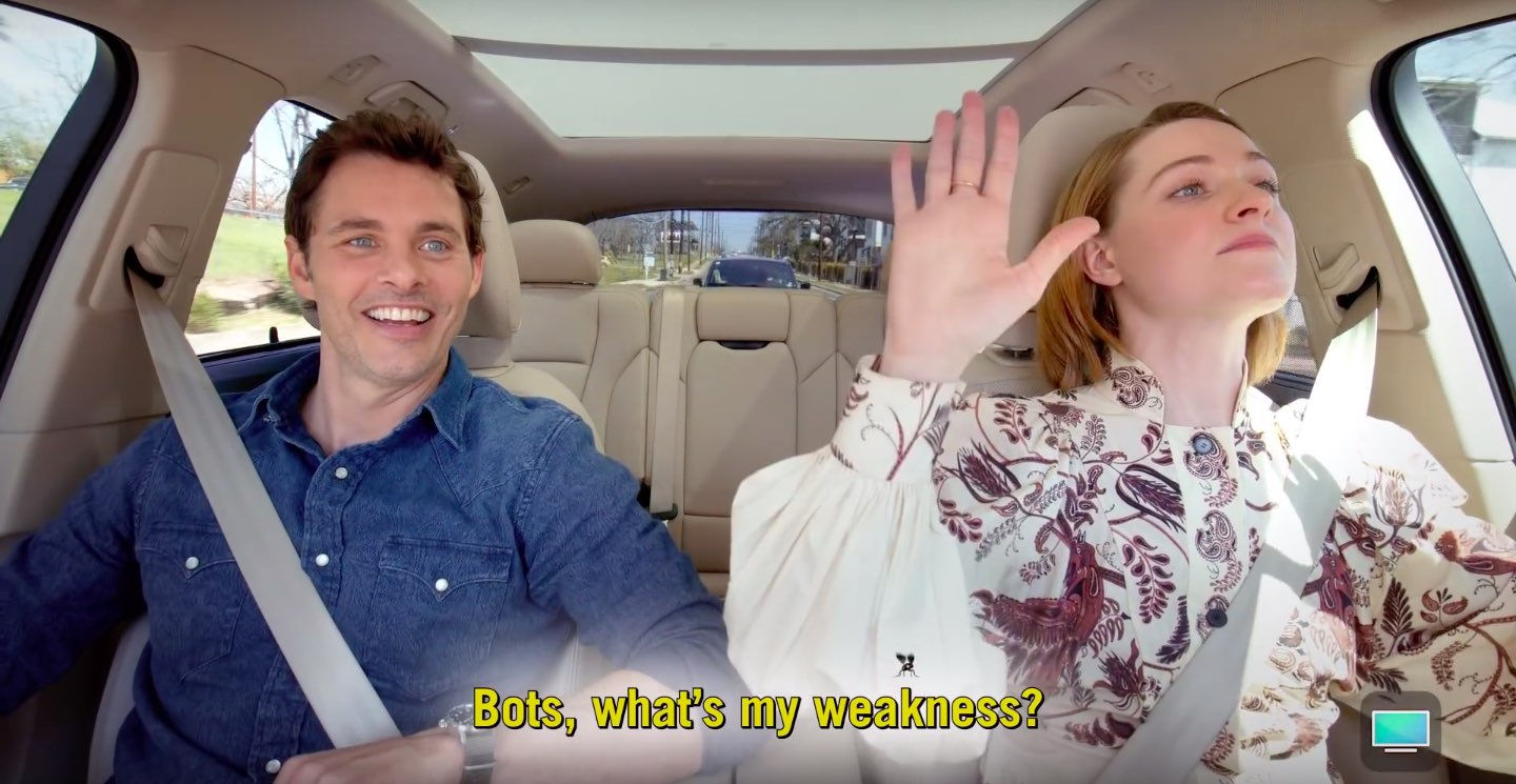 "Westworld actors James Marsden and Evan Rachel Wood will star in an upcoming episode of Apple's ""Carpool Karaoke"""