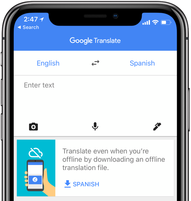 Google Translate for iPhone picks up AI-powered offline mode