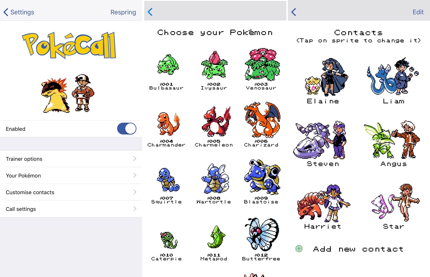 PokeCall brings a classic Pokémon-centric makeover to the