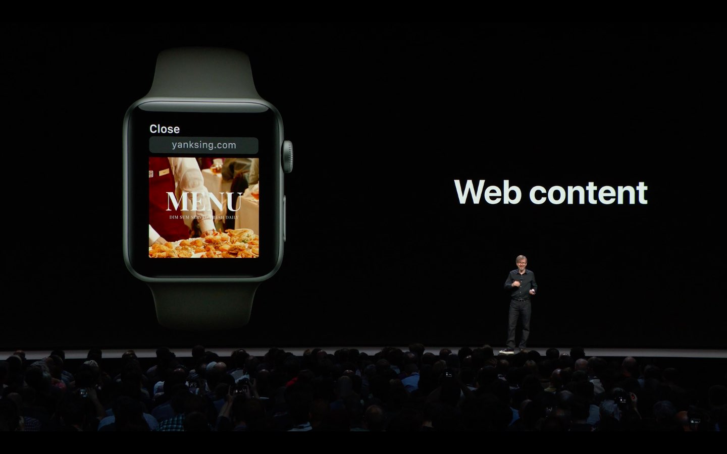 To view web content on Apple Watch, email yourself a link to the website you'd like to view via Mail or iMessage