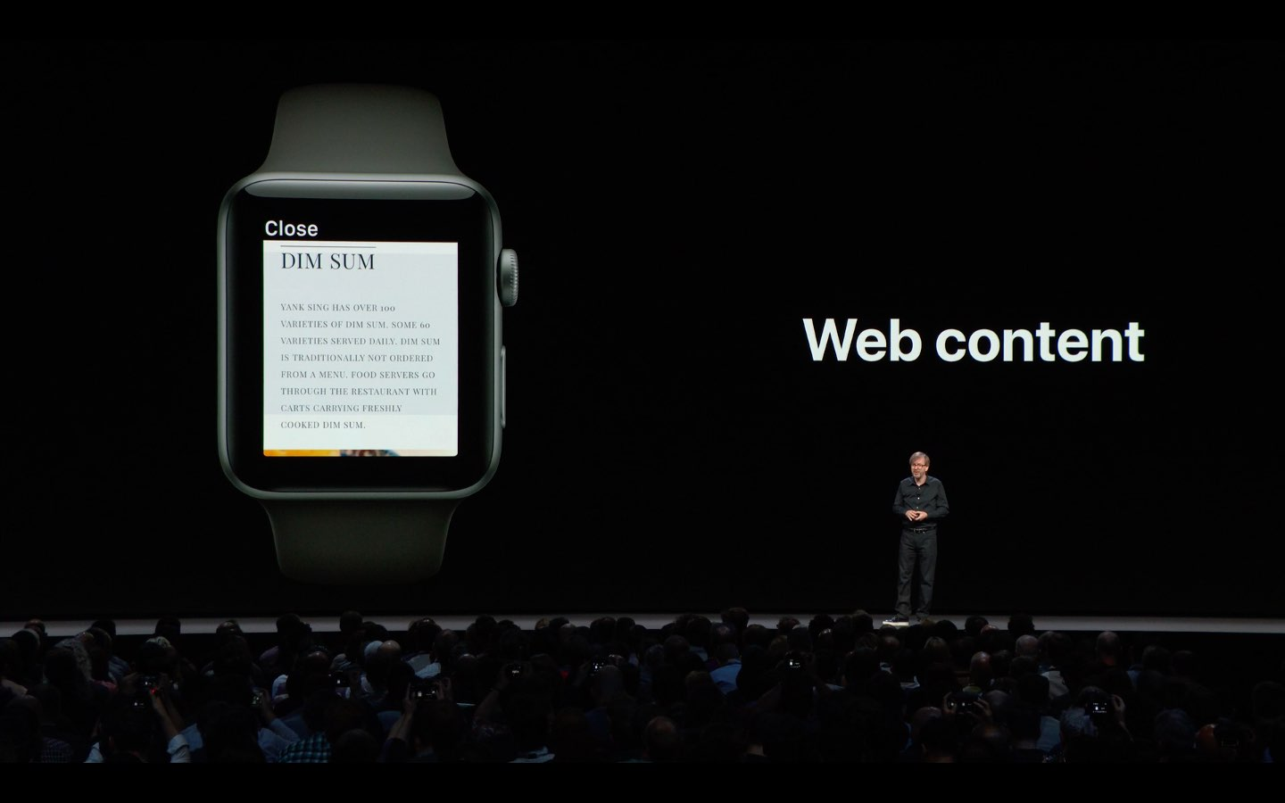 watchOS lead Kevin Lynch announces the WebKit rendering engine is coming to Apple Watch Series 3 and later