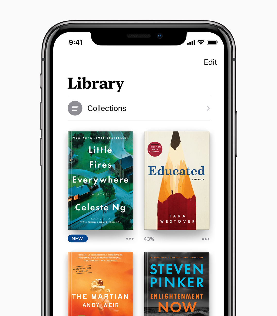 Apple Books Library