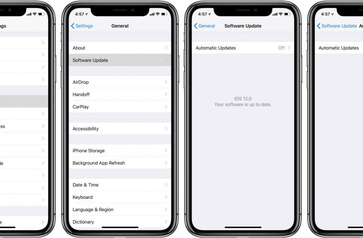 iphone call log settings how to enable automatic updates for ios releases on iphone 15200