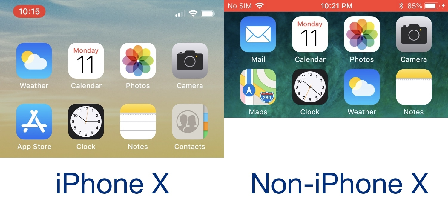 SilentRecorder hides the red Status Bar indicator during