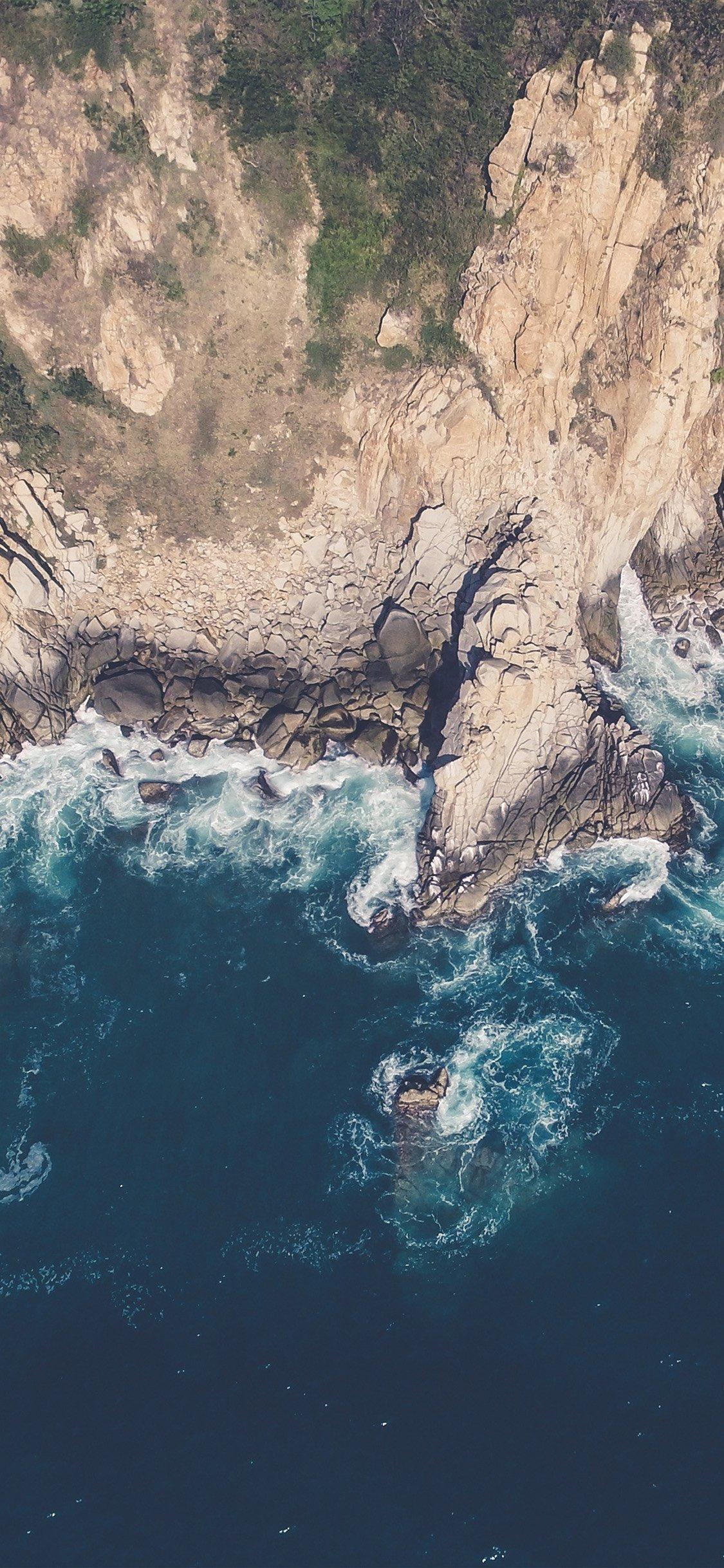 Iphone X Sea Beach Wallpaper