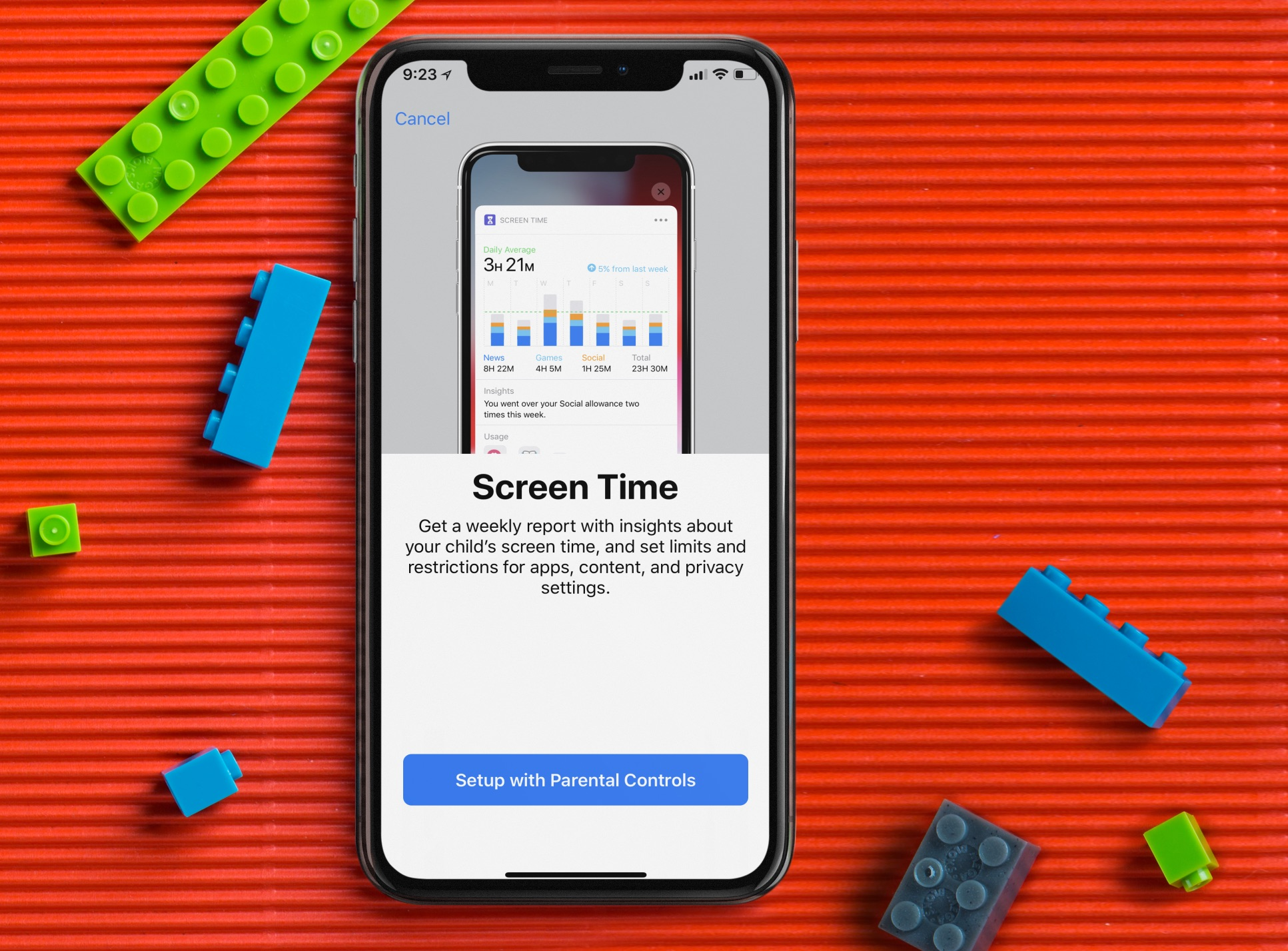 limit kids' screen time