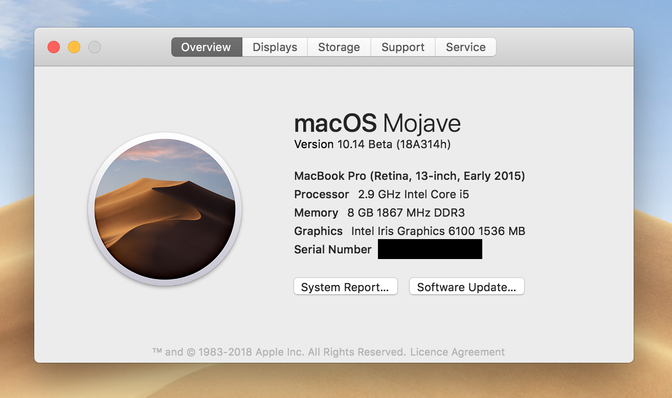 USB installer for macOS Mojave