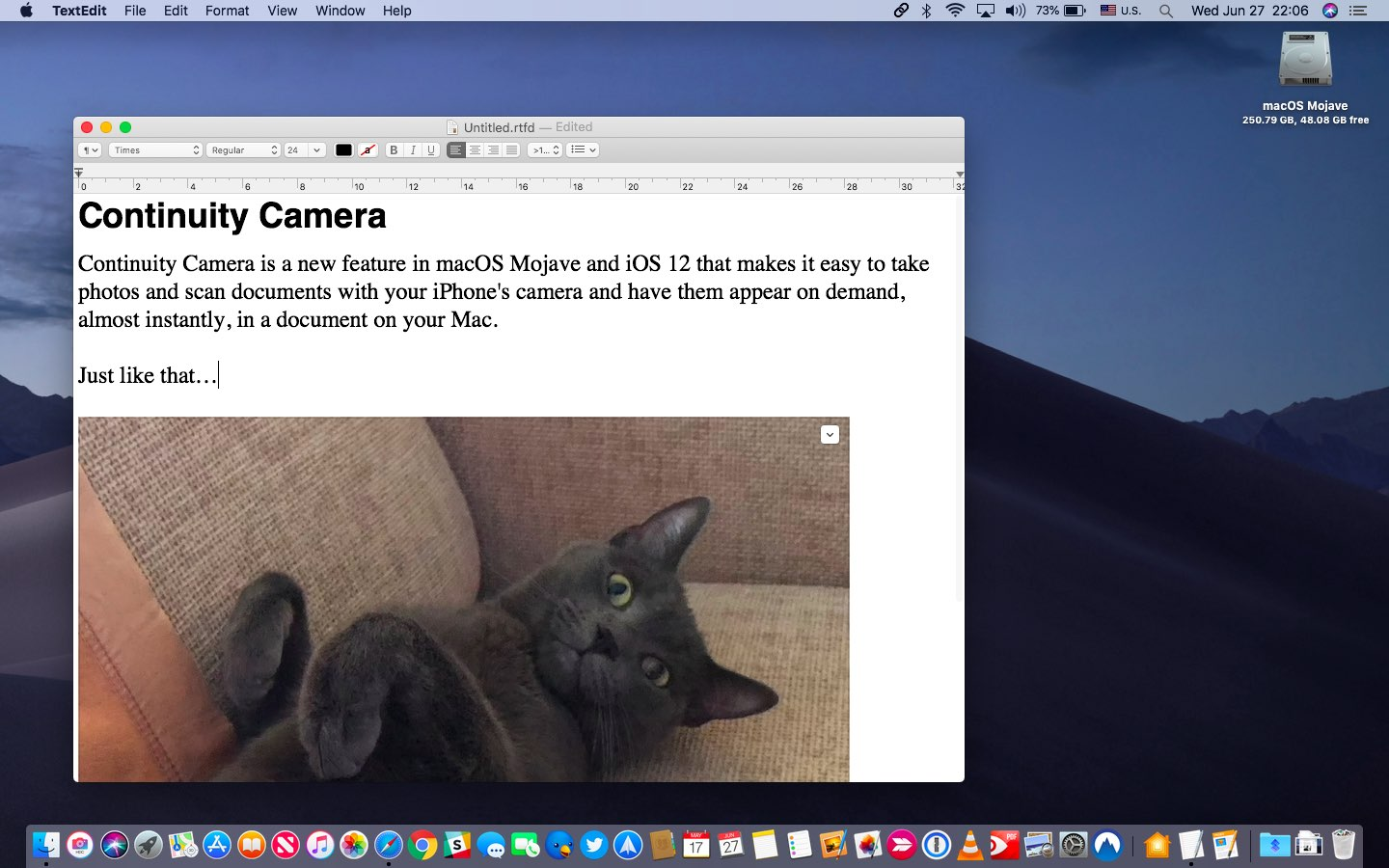 How to take photos and scan documents with iPhone—on your Mac