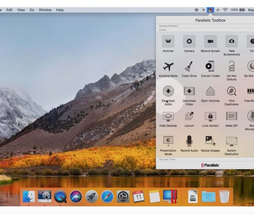 Parallels Toolbox 2018