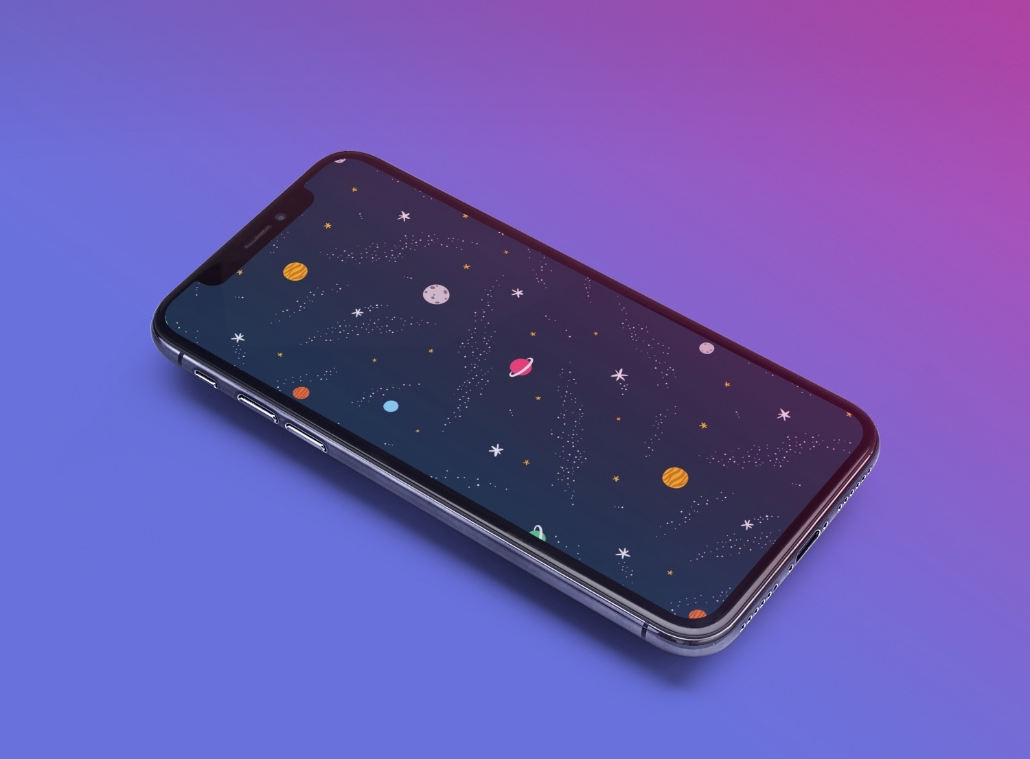 Space wallpaper for iPhone, iPad, and Mac