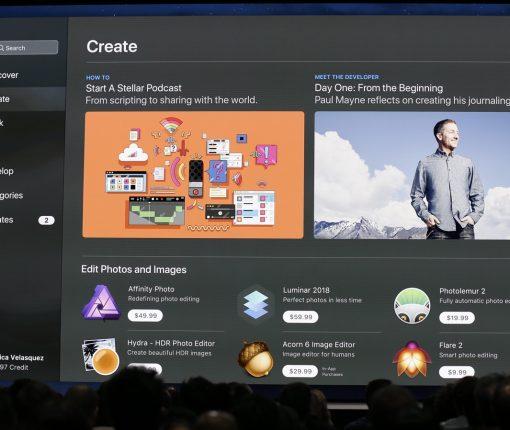 Mac App Store macOS Mojave