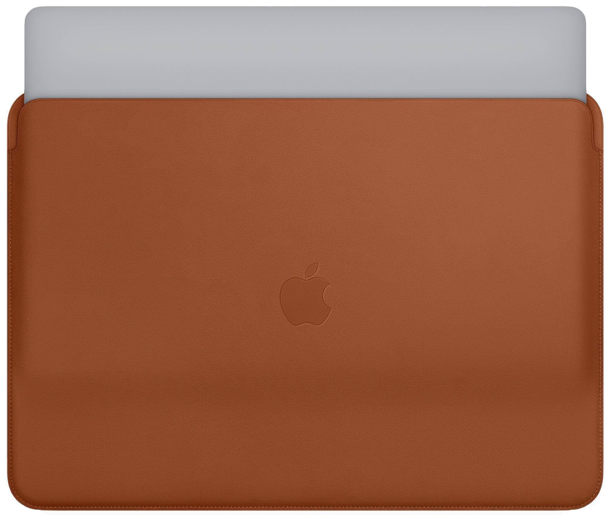 detailed look df14b 3e702 You can buy Apple's quality but pricey leather sleeve for your ...
