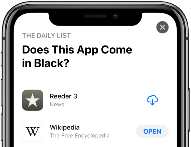 Wikipedia Dark Mode black theme iphone