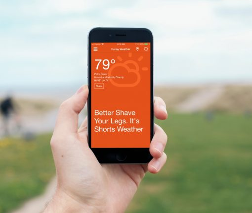 Funny Weather Apps for iOS