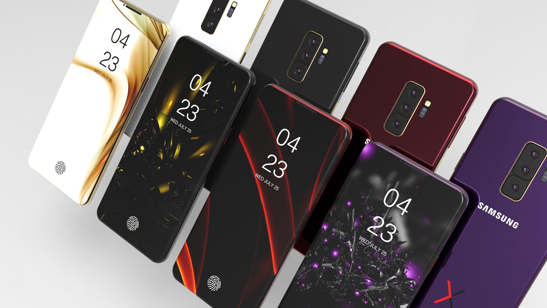 Galaxy S10 rumors: 3 models, 5 cameras, in-display fingerprint
