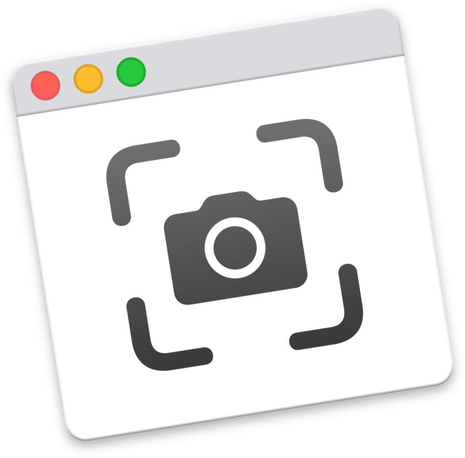 Take Mac screenshots - the icon of the new Screenshot.app