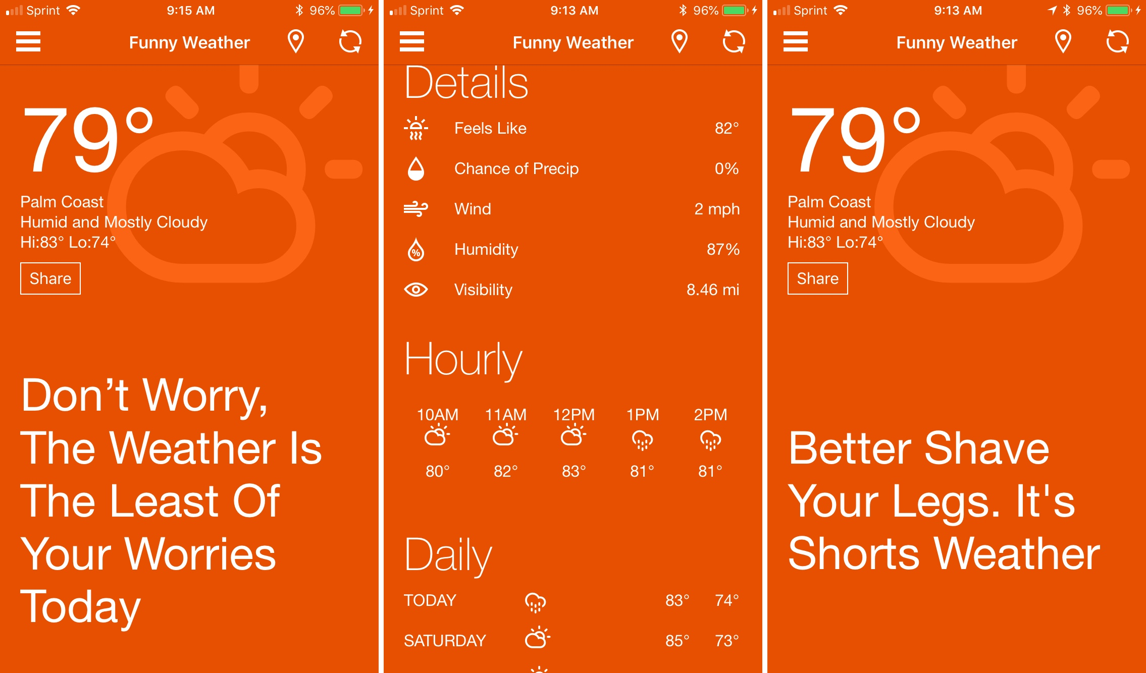 The best funny weather apps for iOS