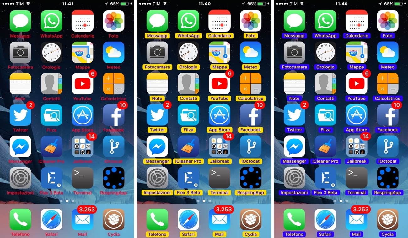 Tinticonlabels Lets You Colorize Your Home Screens App Icon
