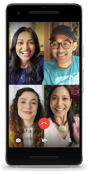 WhatsApp rolls out group calling for voice and video with up to 4 ...