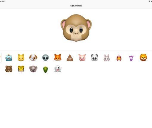 iPad Pro Animoji