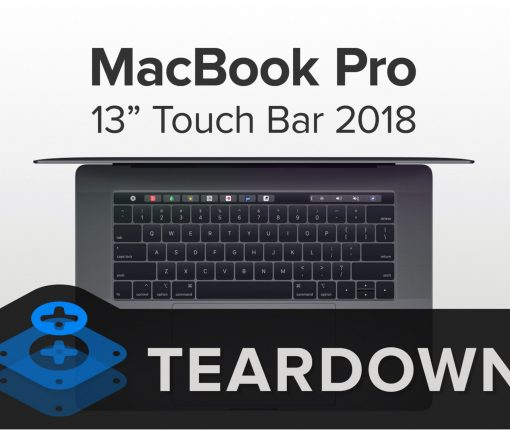 2018 Macbook Pro teardown