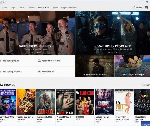 Movies & TV Microsoft