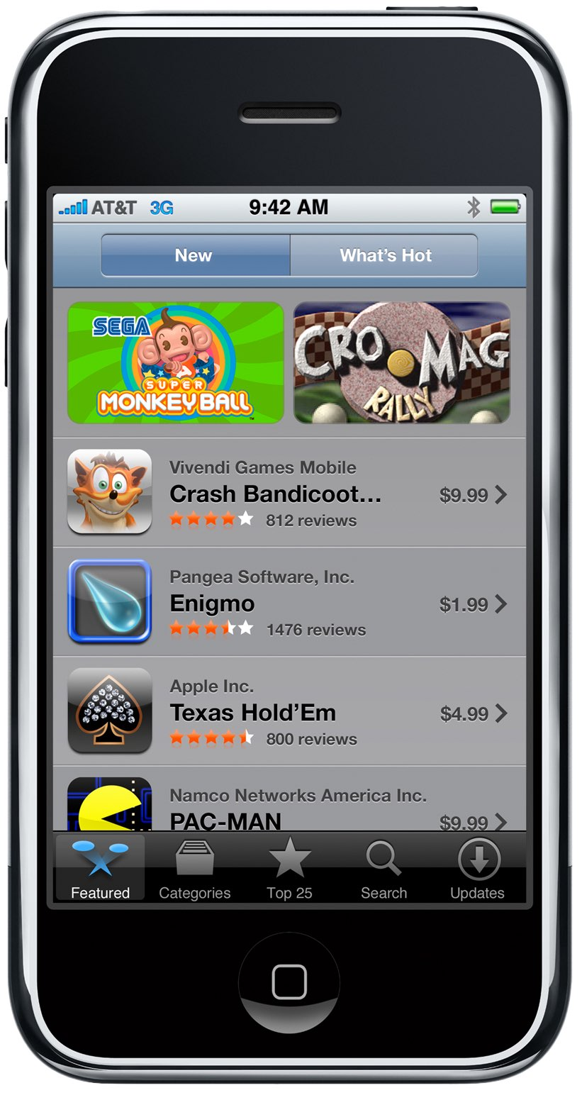 App Store at 10: significant moments and milestones on ...