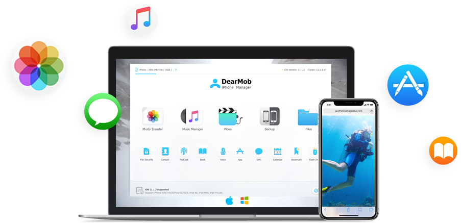 DearMob iPhone manager teaser