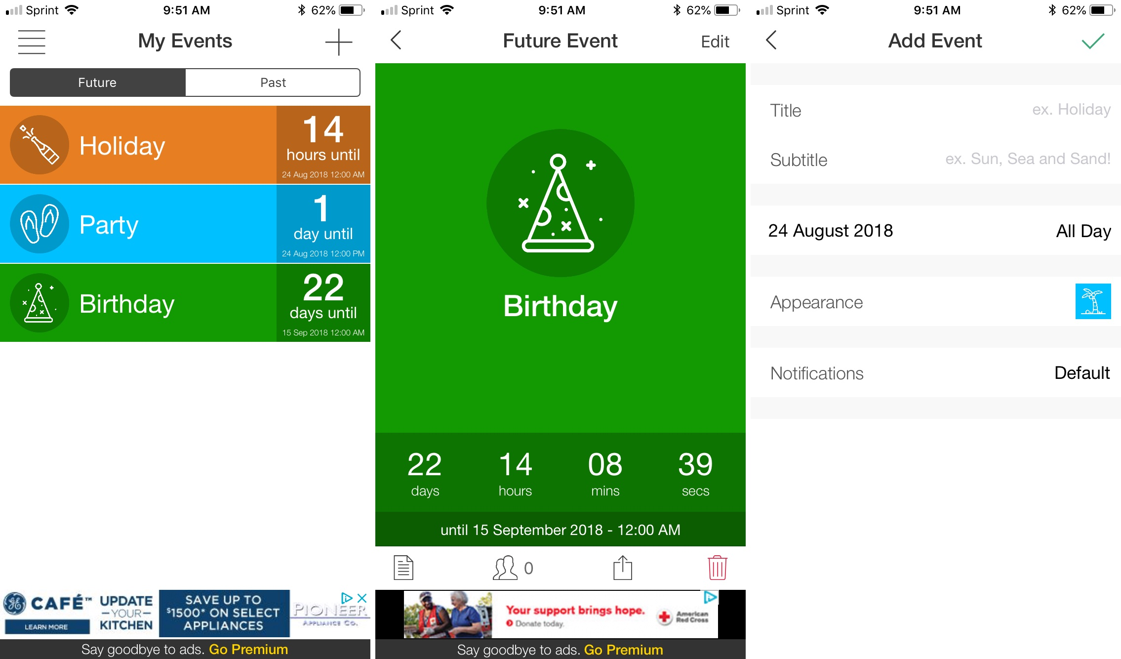The best countdown apps for iPhone and iPad for any event