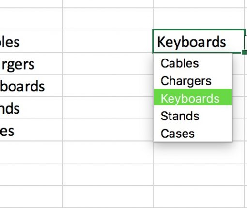 Excel Drop-Down List