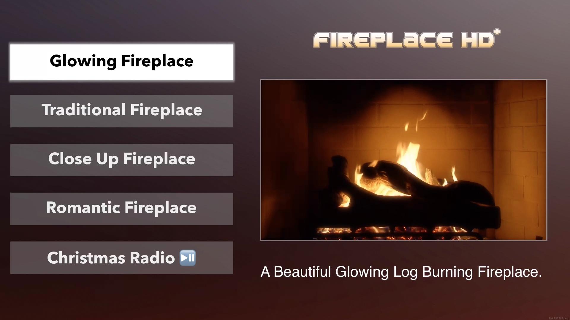 Fireplace HD Plus Apple TV