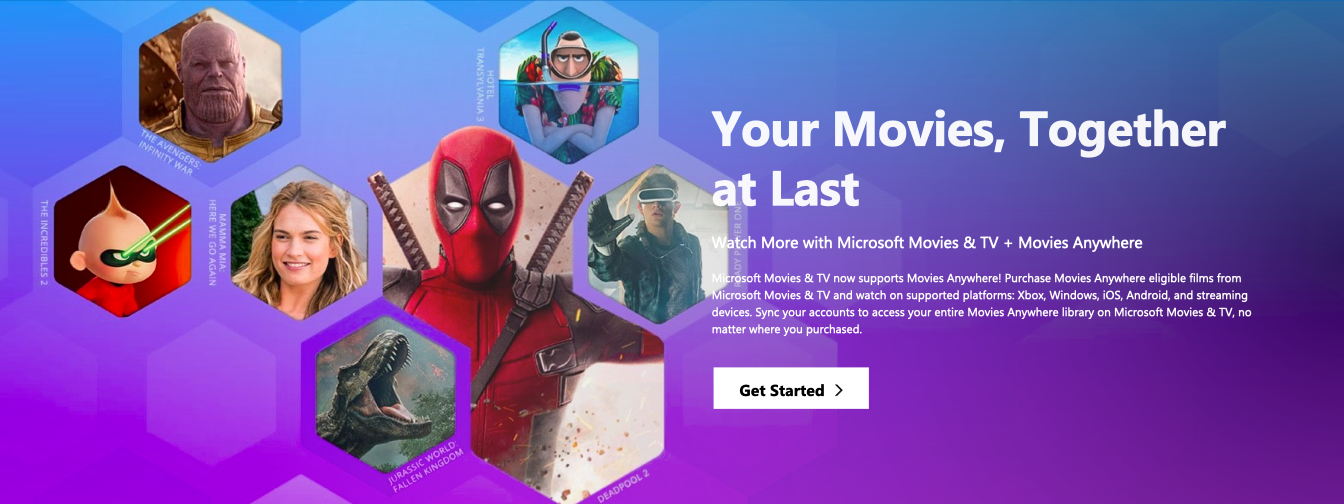 Microsoft will now sync movies bought on Xbox or Windows 10