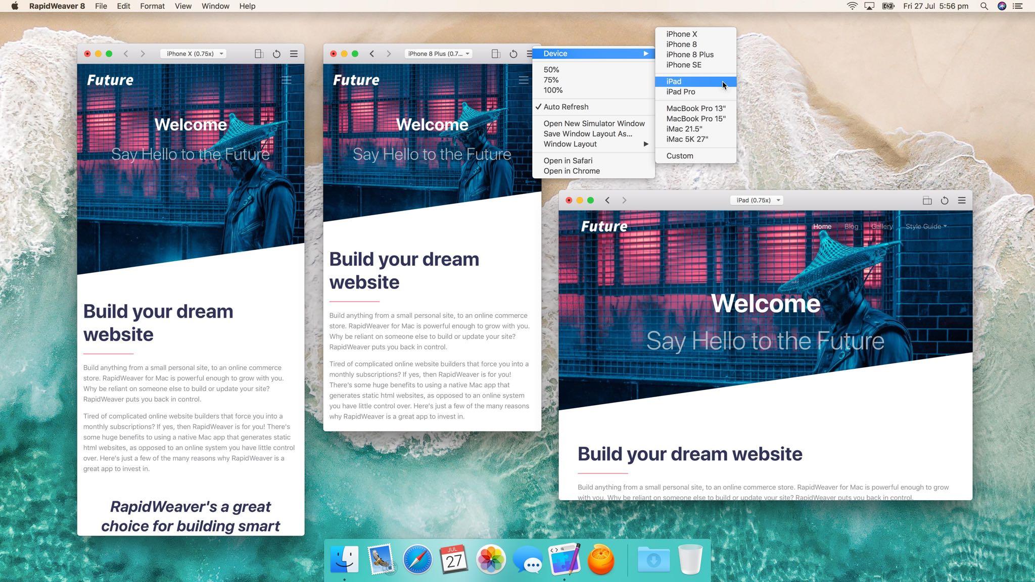 RapidWeaver 8 for Mac arrives: building your dream website just got