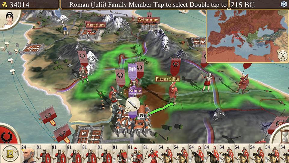 Rome: Total War hitting iPhone next Thursday
