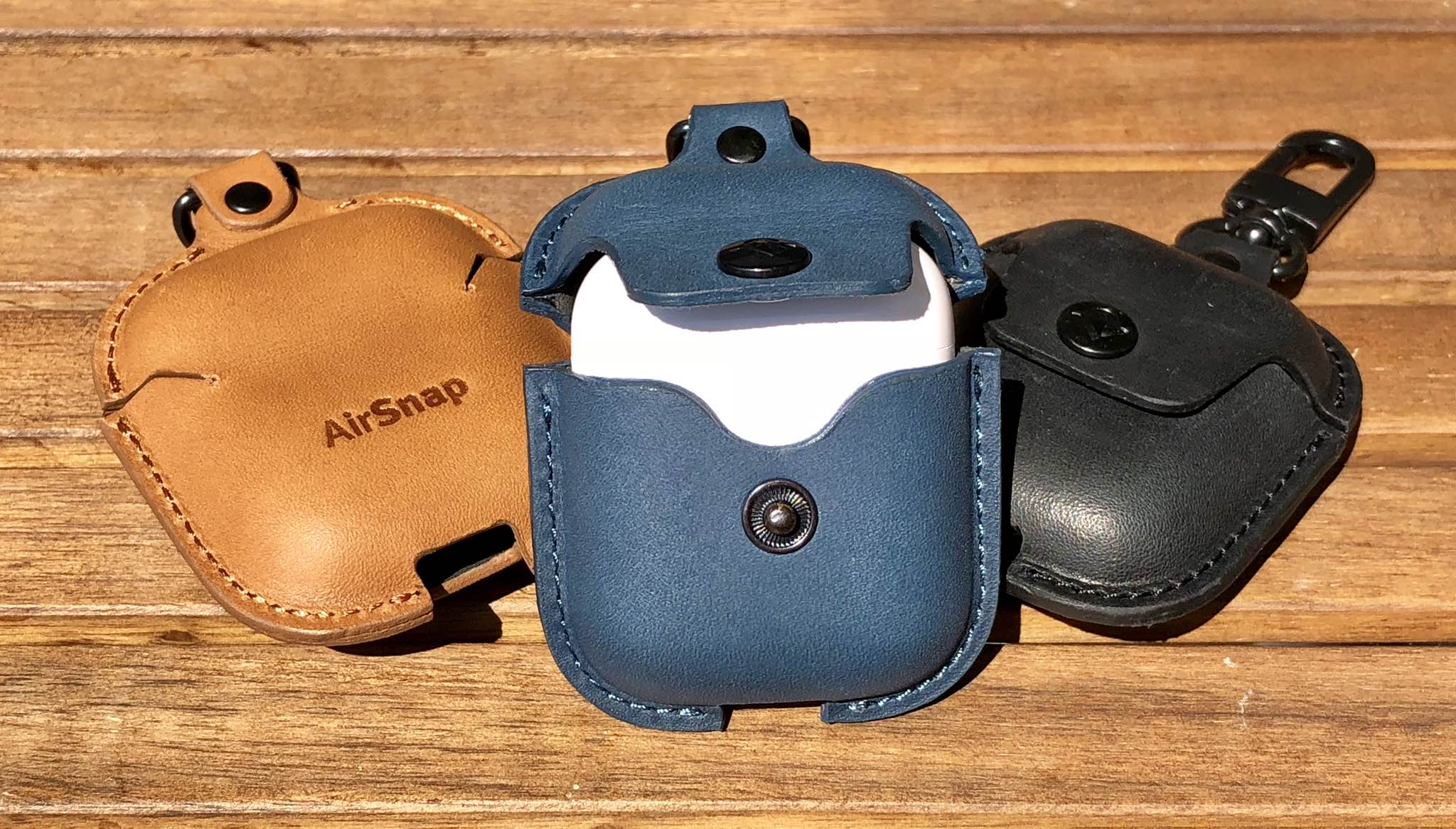 The AirSnap case from Twelve South is made to protect your AirPods charging case