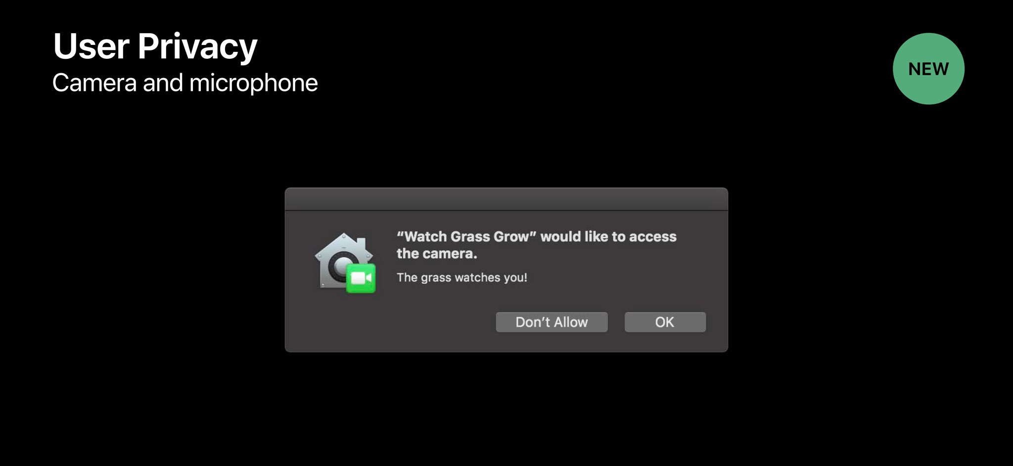 macOS Mojave: stopping apps from accessing your Mac's mic