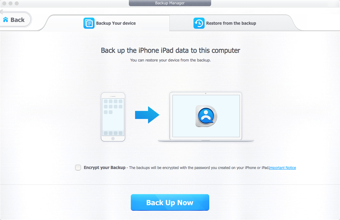 DearMob iPhone Manager: back up & browse iOS devices, bypassing iTunes