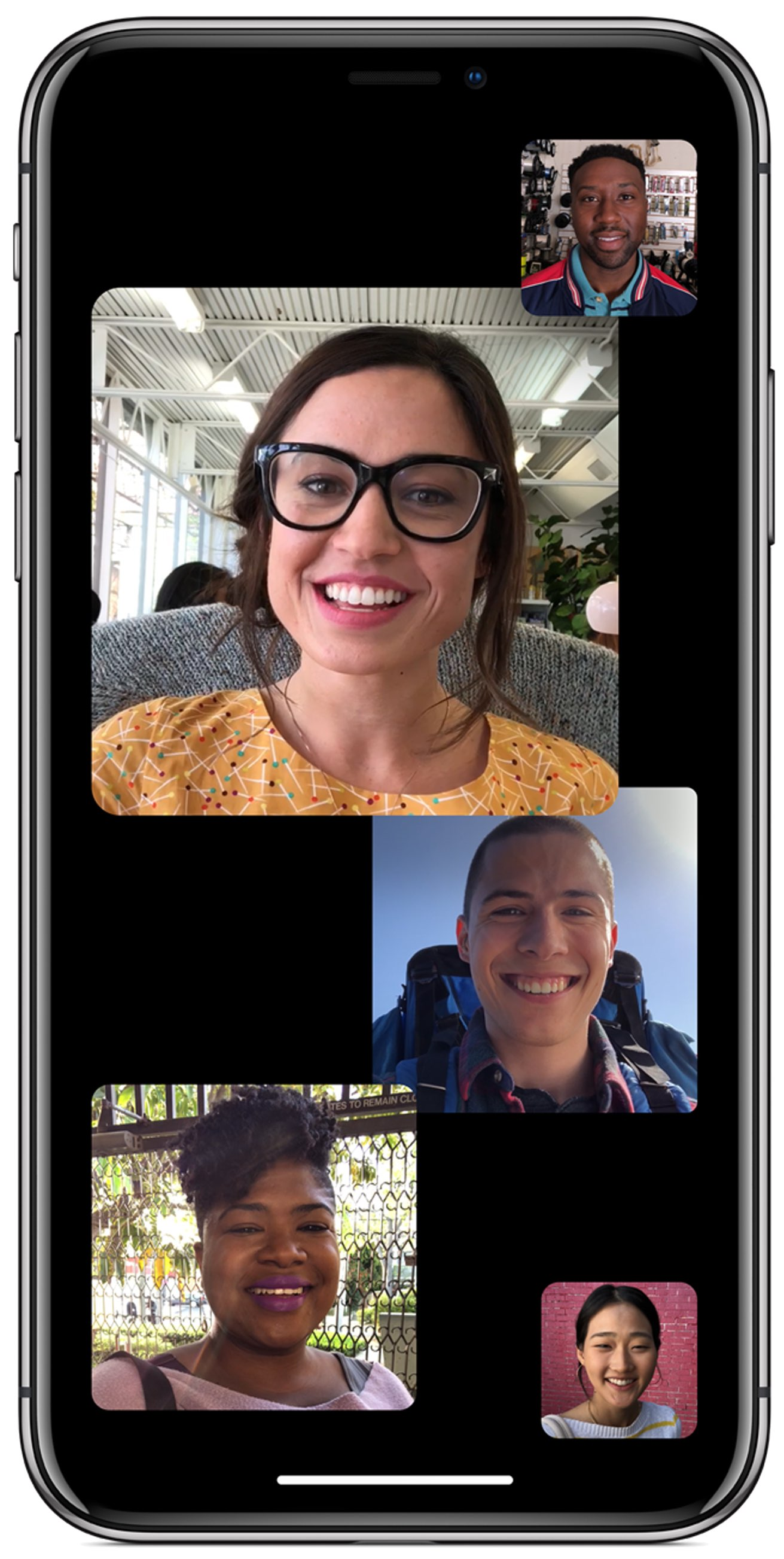 moving faces group FaceTime Automatic Prominence tutorial