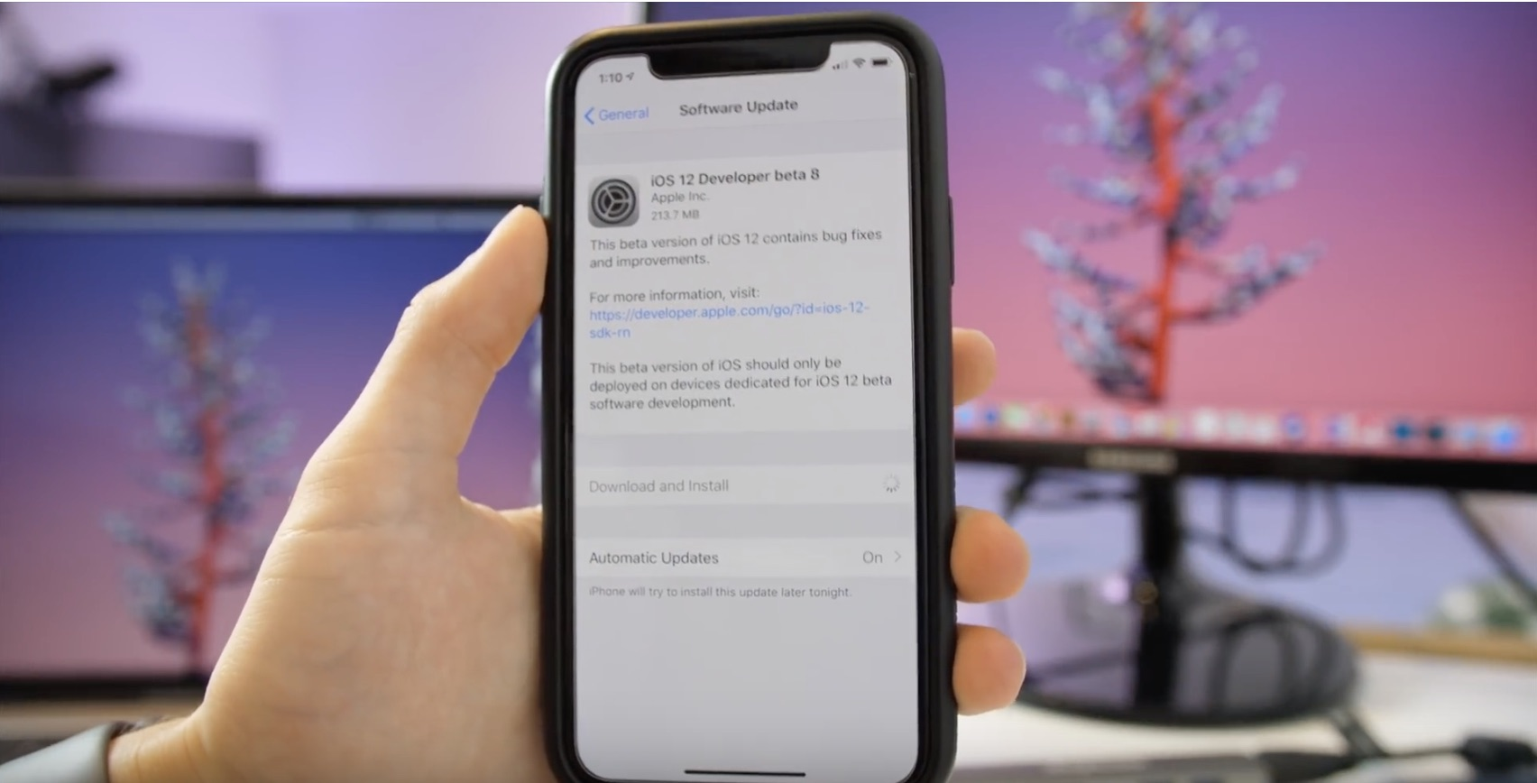 iOS 12 beta 7/8 video: new Messages splash screen, tweaked