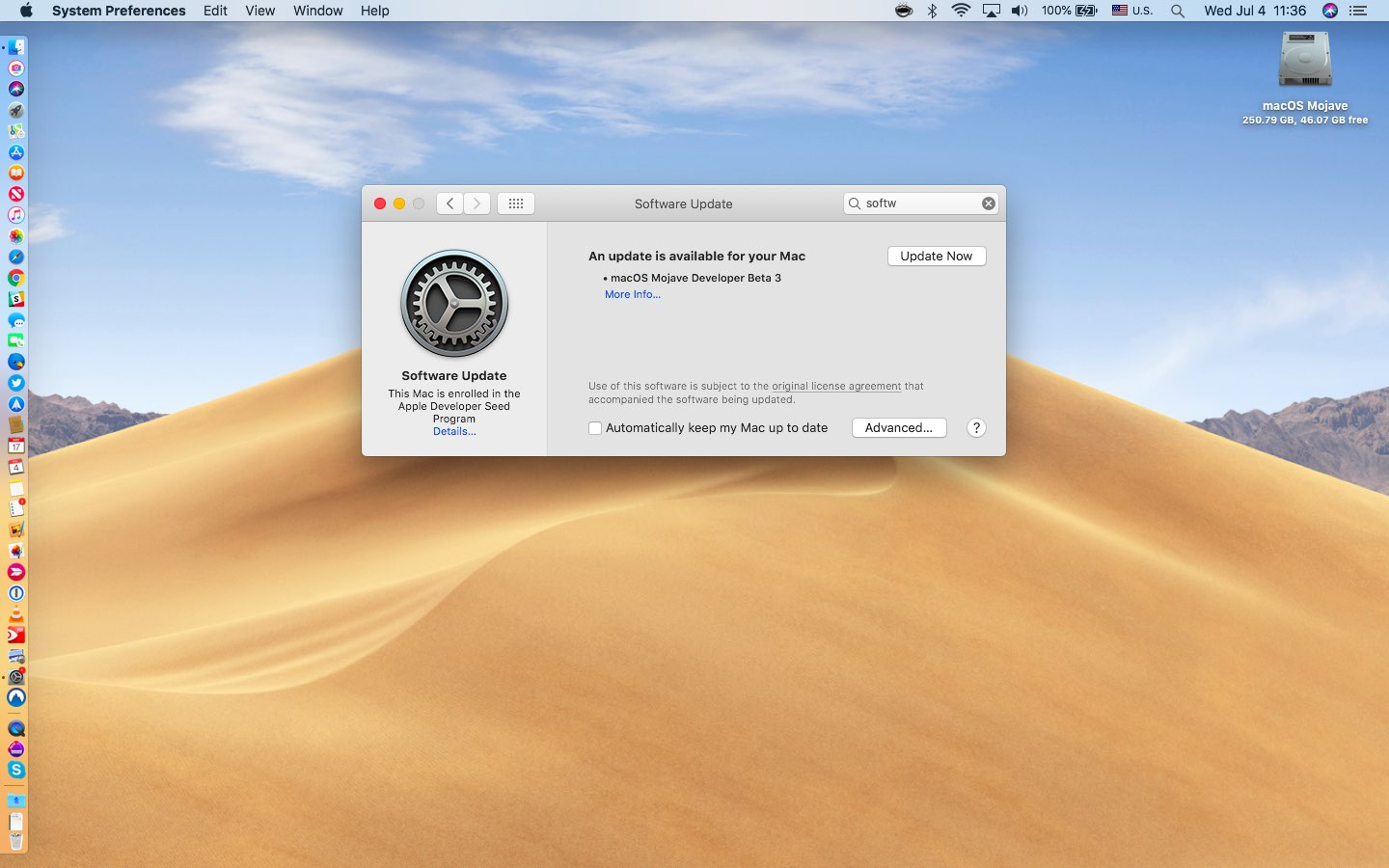 macOS Mojave: how to update the macOS software on your Mac