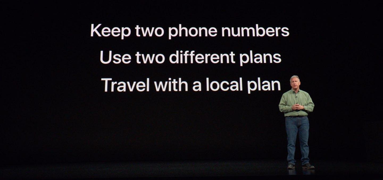 iPhone dual SIM benefits