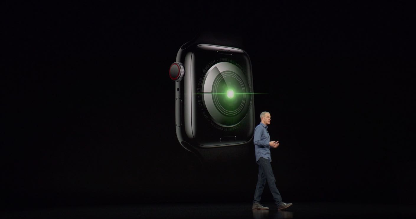 Apple Watch ECG uses a new electrical heart sensor